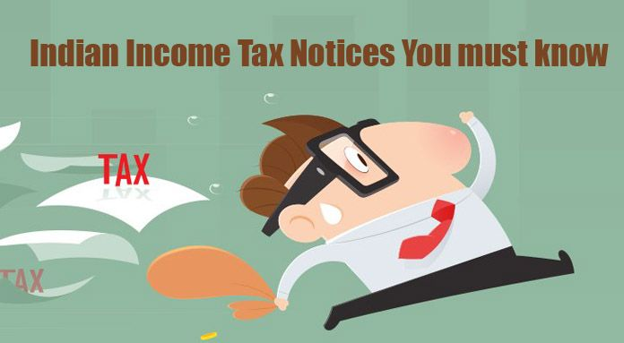 Indian Income Tax Notice - Different Types of Tax Notices format