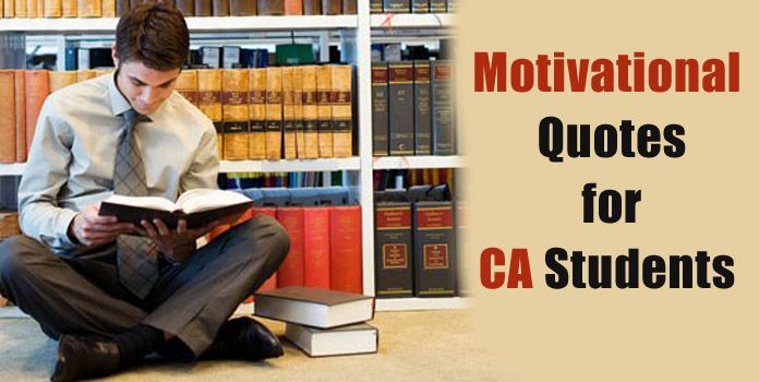 Motivational Quotes for CA Students - Chartered Accountant Quotes