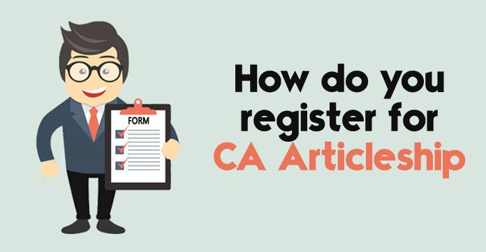 CA Articleship registration - How to apply