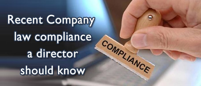 Recent Company law compliance a director should know