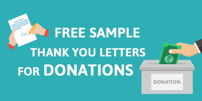 Sample Donation Thank You Letters, Donation Templates, donation letter example