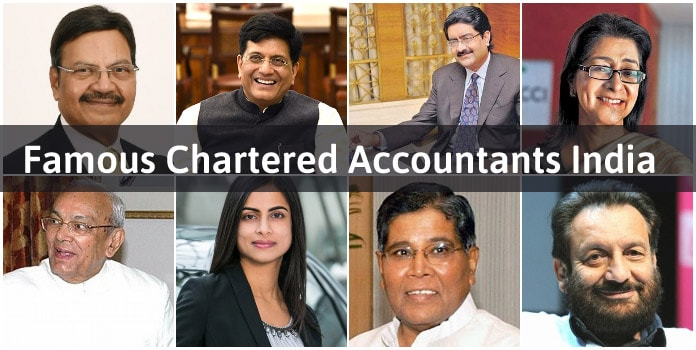 Famous Chartered Accountants India, list of top CA India