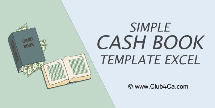 Cash Book Excel Template Format