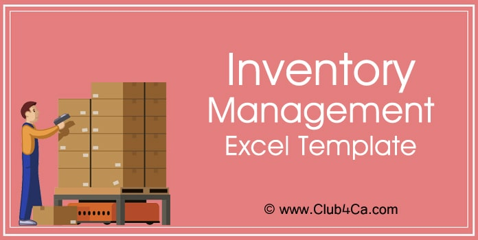 Inventory Management Excel Template, inventory tracking template
