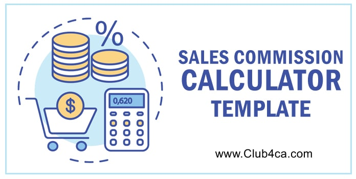 Sales Commission Calculator Format in Excel Template