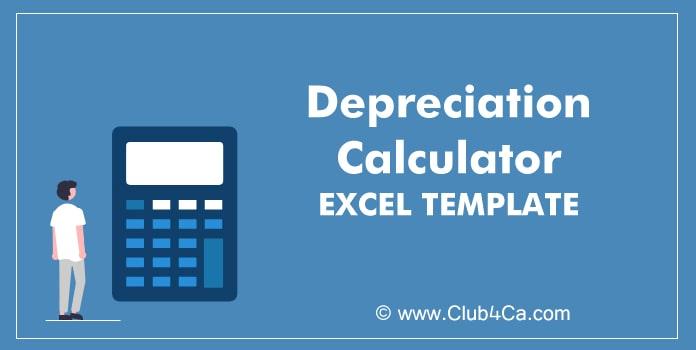 Depreciation Calculator Excel Template