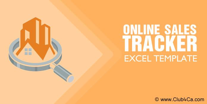 Online Sales Tracker Excel Template