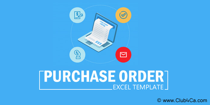 Purchase Order Template, Purchase order Excel format India