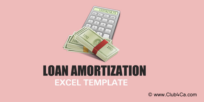 Simple Loan Amortization Excel Template Free