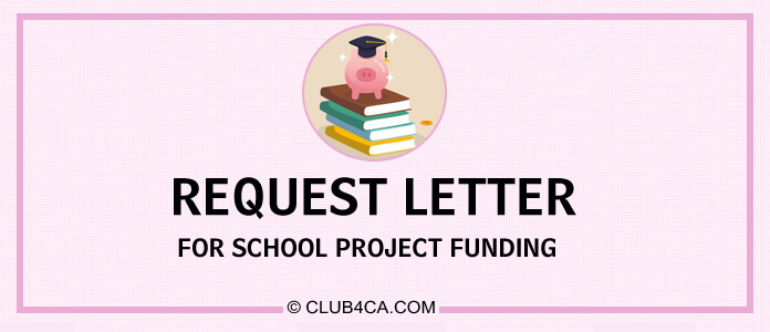 Request Letter for School Project Funding