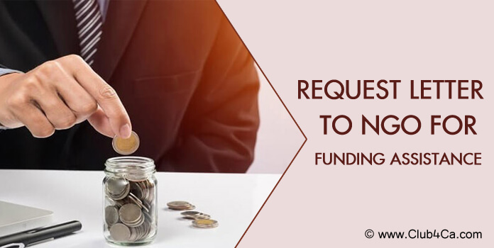 Request Letter to NGO for Funding Assistance